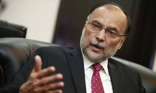 Court indicts Ahsan Iqbal in Narowal Sports City Complex corruption case