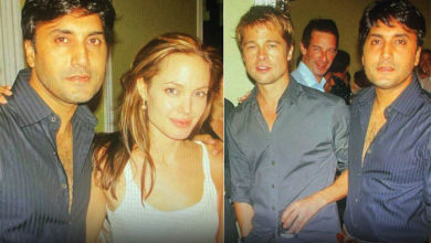 Adnan Siddiqui shares old pictures with Pitt and Jolie