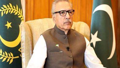 President Alvi urges to remember Kashmiri brethren