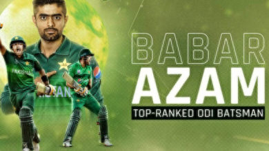 Babar Azam sits on top of ICC's ODI batsman rankings