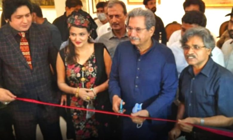 """""""The Balochistan Sphinx"""" opened at Alhamra Museum"""