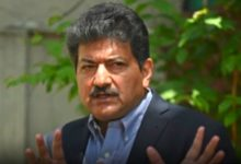 Hamid Mir issues an apology for his outburst
