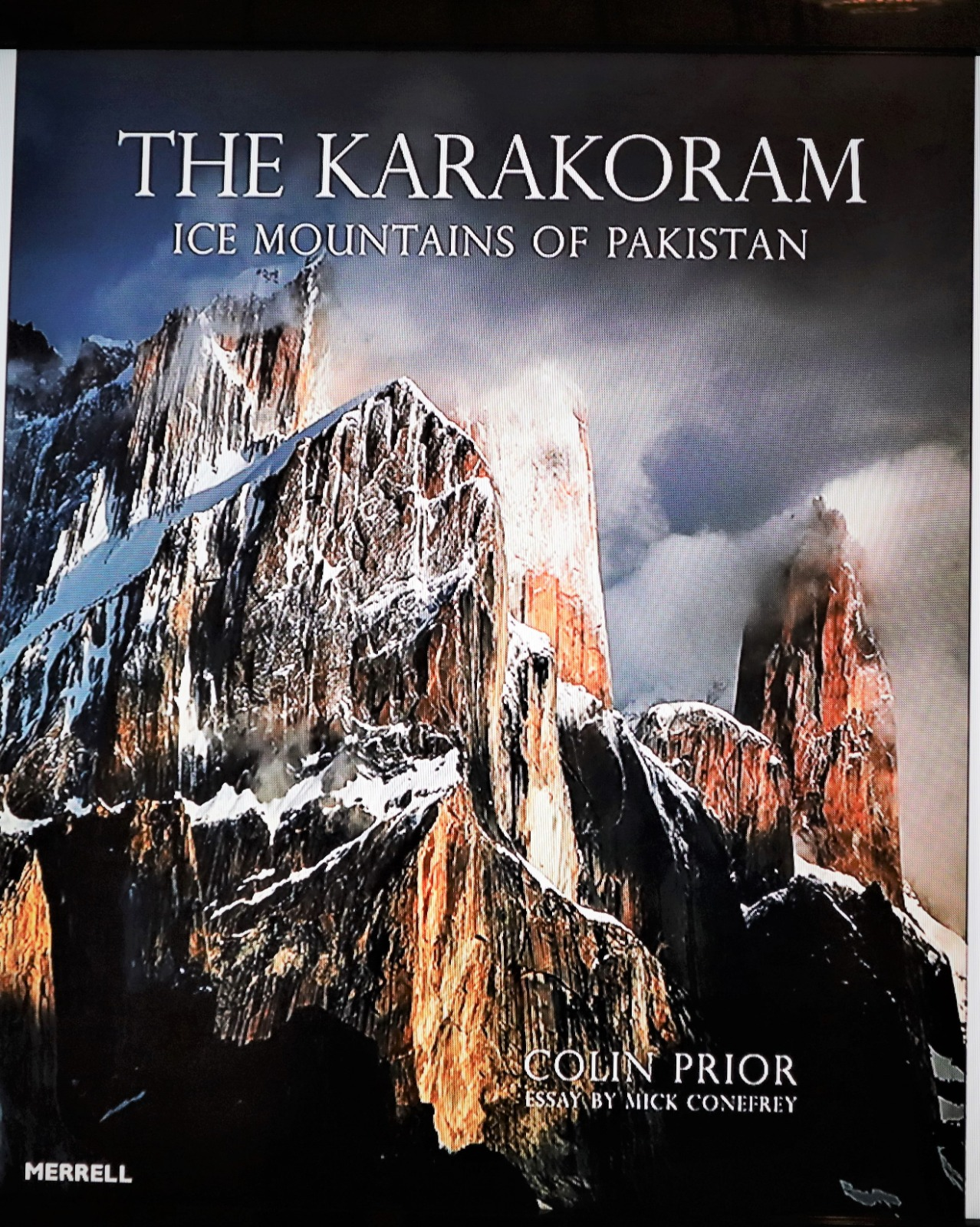"""Landscape photographer Colin Prior's book, """"The Karakoram: Ice Mountains of Pakistan"""" that was launched at Pakistan High Commission London"""