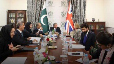 Federal Minister Shafqat Mahmood discusses educational collaboration with UK organisations